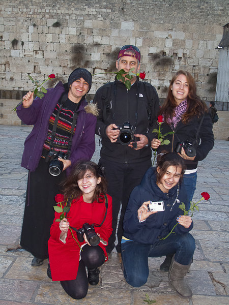 Nikons at Kotel